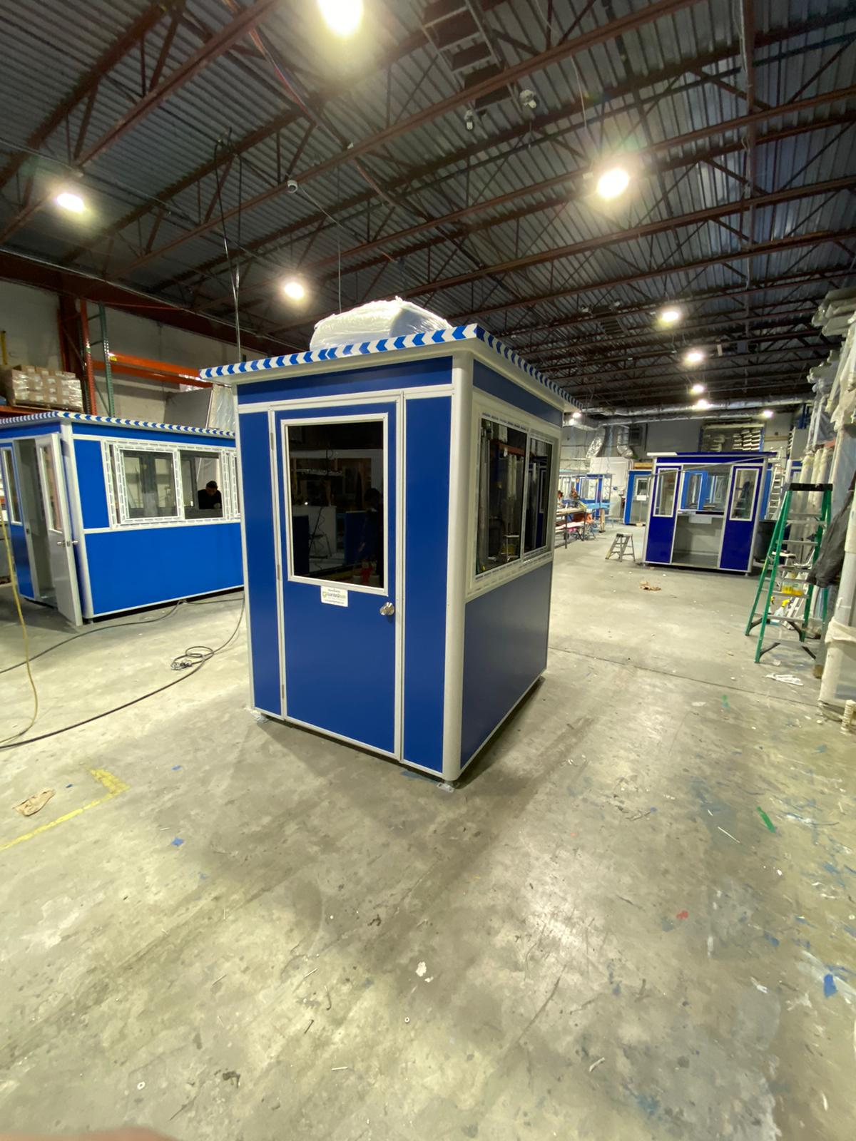 guard shack manufacturers production site