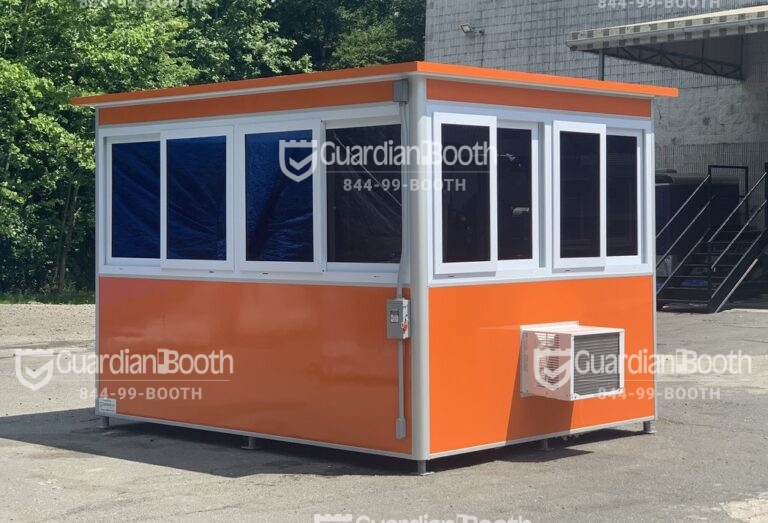 8x10 Modular Office in Phoenix, IL with Custom Color,Tinted Windows, Built-in AC,Electric Disconnect Switch