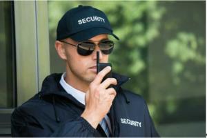 portable guard building security