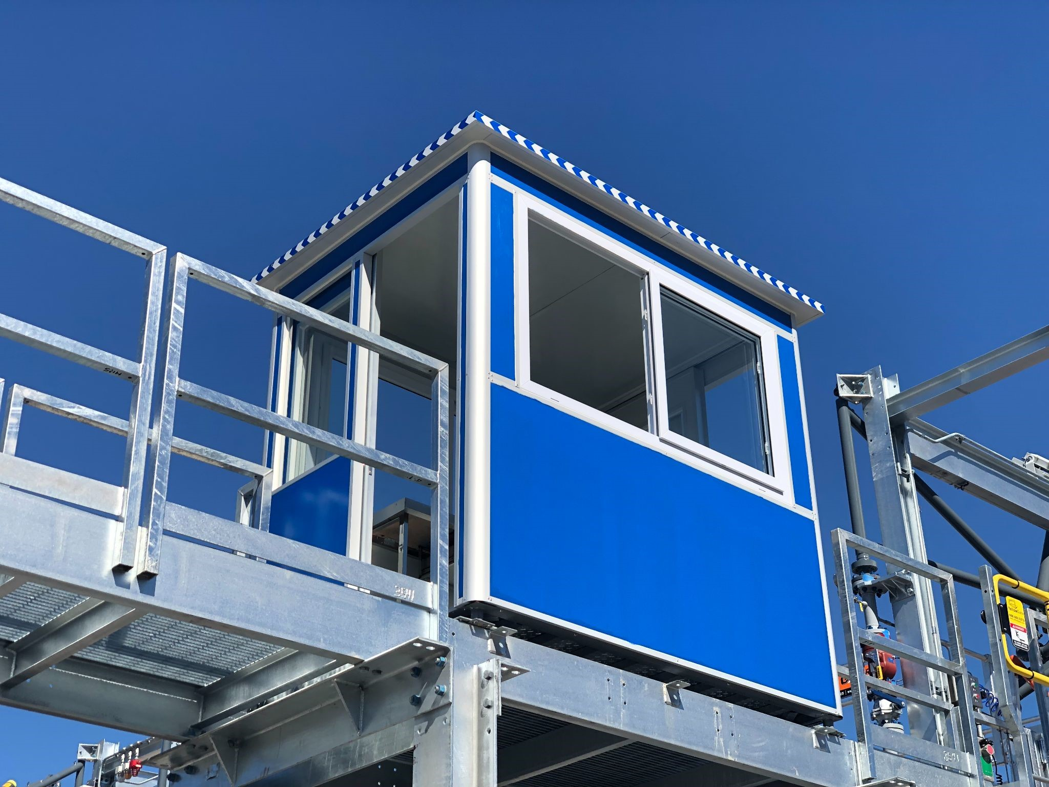 Watch tower for security