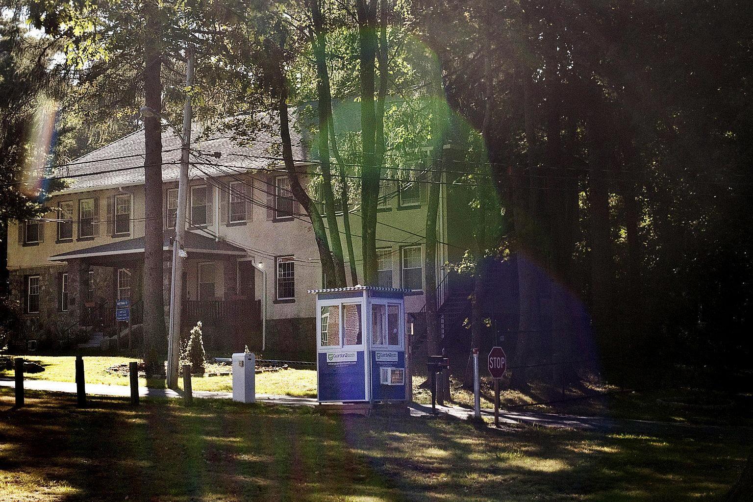 guard shack protects premises