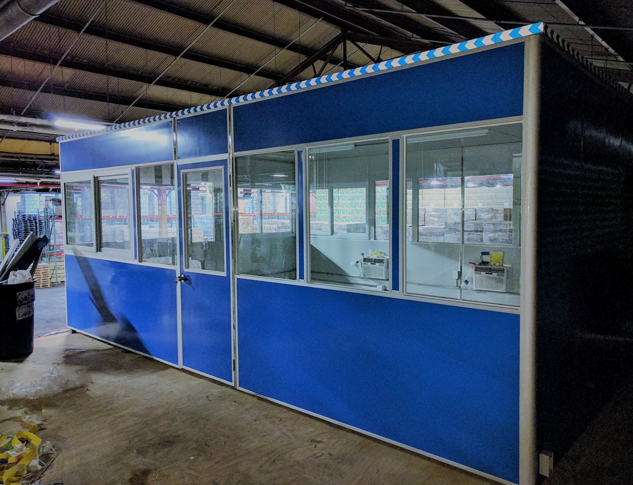 modular office unit for a short period