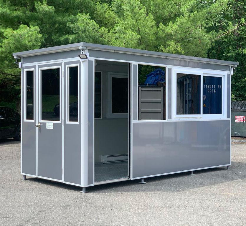 7x14 big booth grey