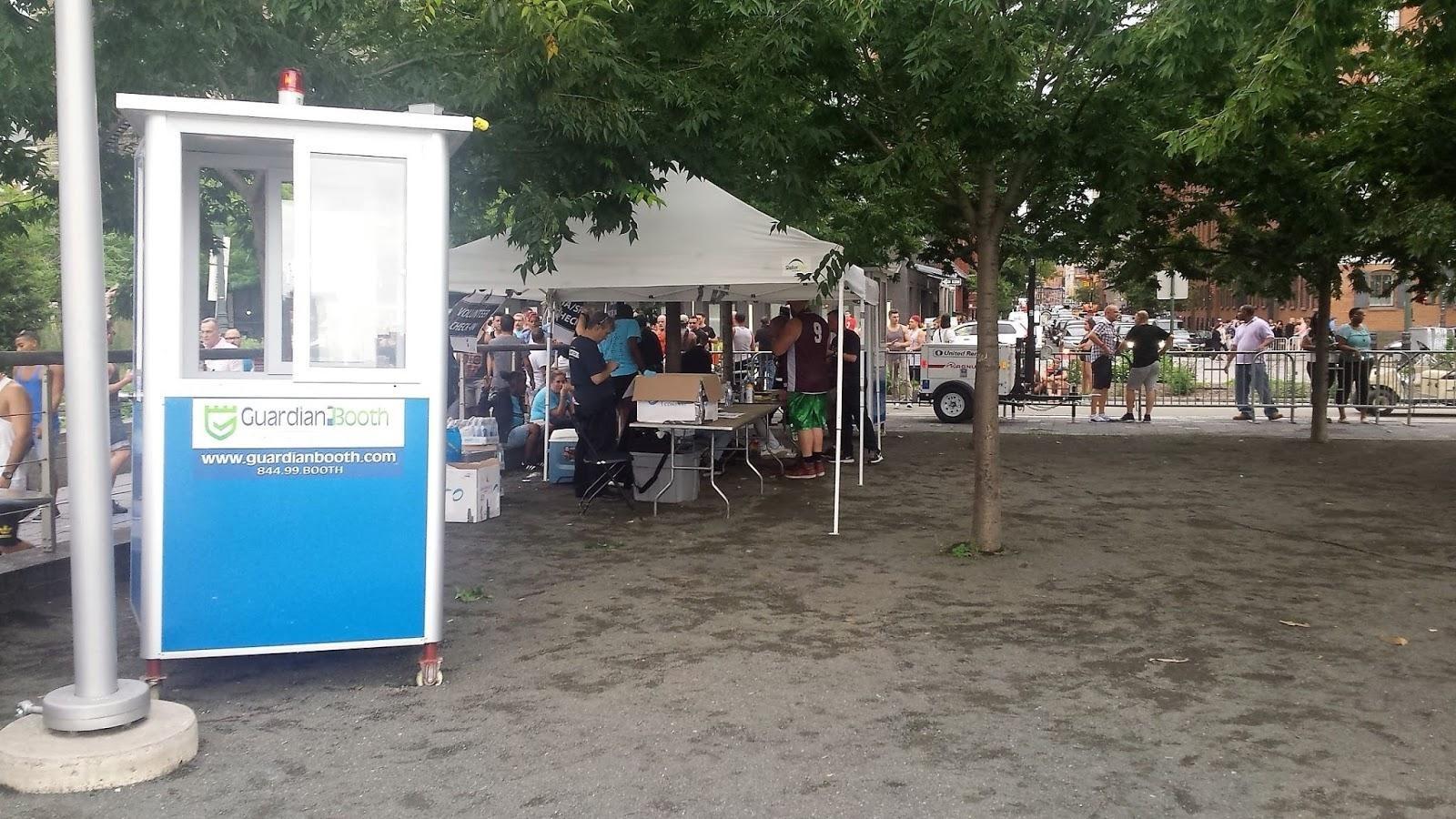 Guardian Booth food kiosk at park