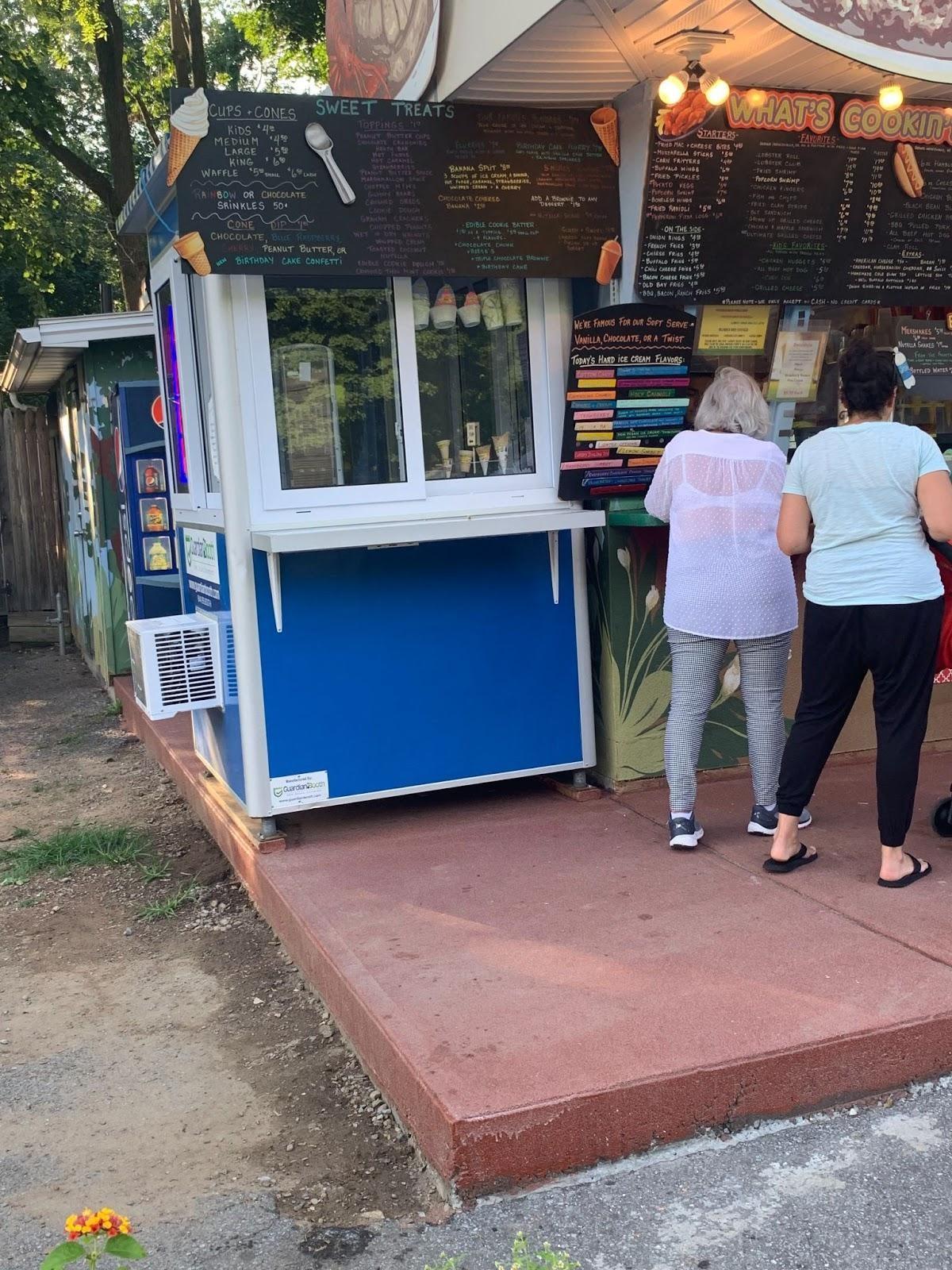 Ice cream food kiosk